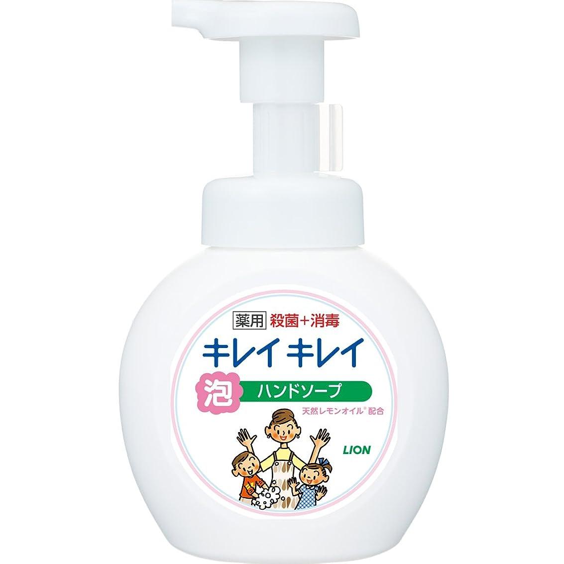 権威差し引くテンポキレイキレイ 薬用 泡ハンドソープ シトラスフルーティの香り 本体ポンプ 250ml(医薬部外品)