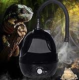 Amphibian Insect & Reptile Tank, Mister/Fogger/Humidifier - Large Tank - Adjustable with Flexible Hose - for Reptile Terrarium/Tank/Aquarium & Hide/Cave