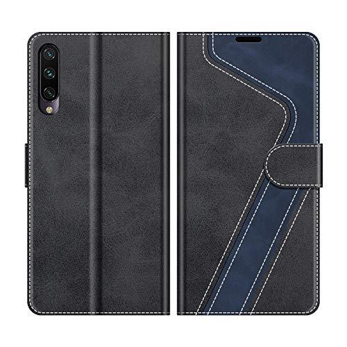 MOBESV Custodia Xiaomi Mi A3, Cover a Libro Xiaomi Mi A3, Custodia in Pelle Xiaomi Mi A3 Magnetica Cover per Xiaomi Mi A3, Elegante Nero