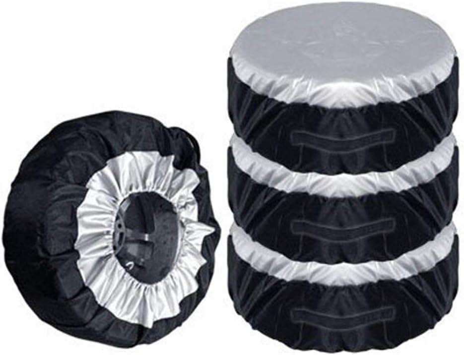 szlsl88 Coche Repuesto Neumático Cubierta Antipolvo Repuesto Neumático Montaje Neumático Rueda Neumático Almacenamiento Bolsas Apto para 13-19 ...