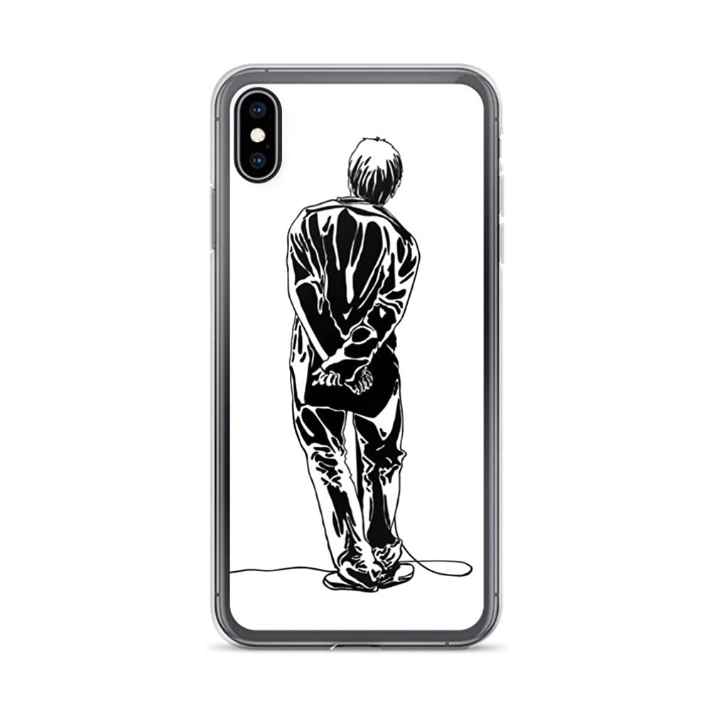 iPhone XR Pure Clear Case Cases Cover Liam Gallagher Oasis
