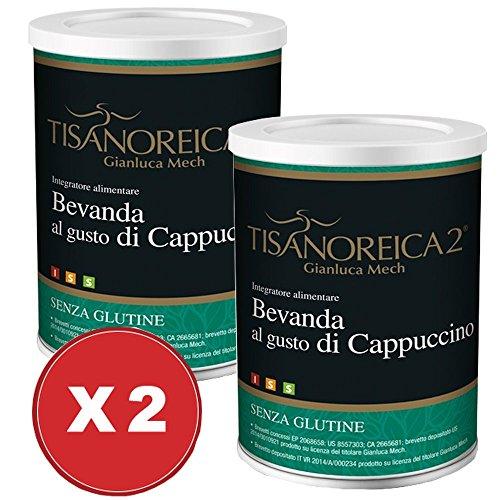 Bevanda Cappuccino Tisanoreica 2 Confezioni da 350 grammi - Gianluca Mech