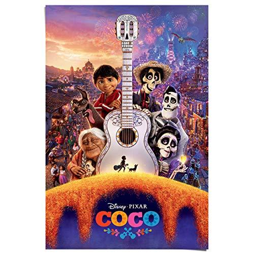 Maxi Poster Disney - Coco gitaar - 61 x 91 cm Jongenskamer