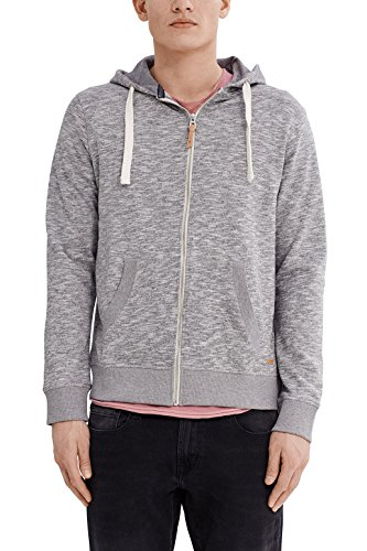 edc by ESPRIT Herren 997CC2J800 Sweatshirt, Grau (Grey 030), Large