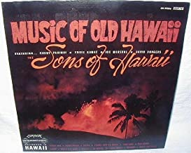 Music Of Old Hawaii - The Sons of Hawaii Featuring Gabby Pahinui, International Records - London 33 1/3 RPM Vinyl Record. SW-99396