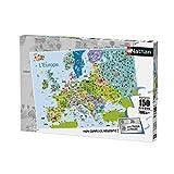Nathan - Puzzle-Mapa de Europa, 150 Piezas, 86835