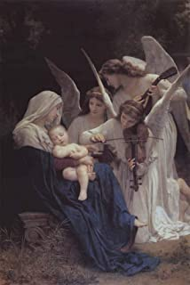 Song of The Angels by William Adolphe Bouguereau Art Print, 13 x 20 inches