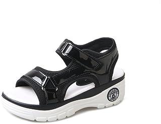 Donyyyy zapatillas de playa, sandalias de verano, verano sandalias, tacones bajos e inferior grueso sandalias.