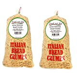 All Natural Seasoned Italian Bread Crumbs No Preservatives or Additives - Frank and Sal Bakery. 2...