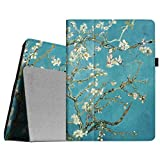FINTIE Folio Case for iPad 2 3 4 (Old Model) - Slim Fit Smart Stand Protective Cover Auto Sleep/Wake for iPad 2, iPad 3rd gen & iPad 4th Generation with Retina Display, Blossom