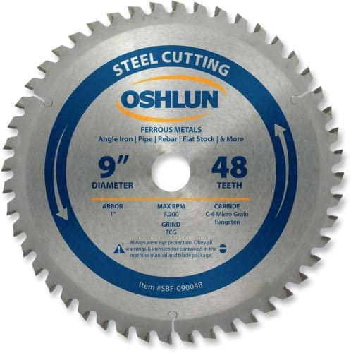 wholesale Oshlun SBF-090048 9-Inch 48 Tooth TCG Arbo Saw 1-Inch Blade Over item handling ☆ with