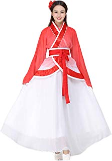 Ez-sofei Women's Ancient Chinese Traditional Hanfu Dress Han Dynasty Cosplay Costume
