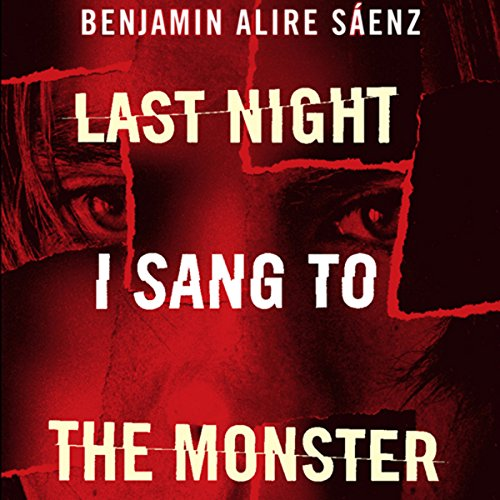 Last Night I Sang to the Monster audiobook cover art