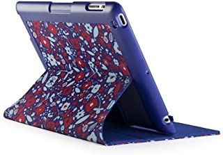 Speck Products FitFolio Protective Cover for iPad 3/4 - BitsyFloral Blue/Red (SPK-A1191)