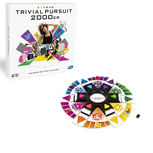 Hasbro Spiele B7388100 - Trivial Pursuit 2000er Edition, Fragespiel