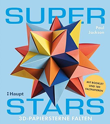 Superstars: 3D-Papiersterne falten - mit Booklet und 180 Faltpapieren