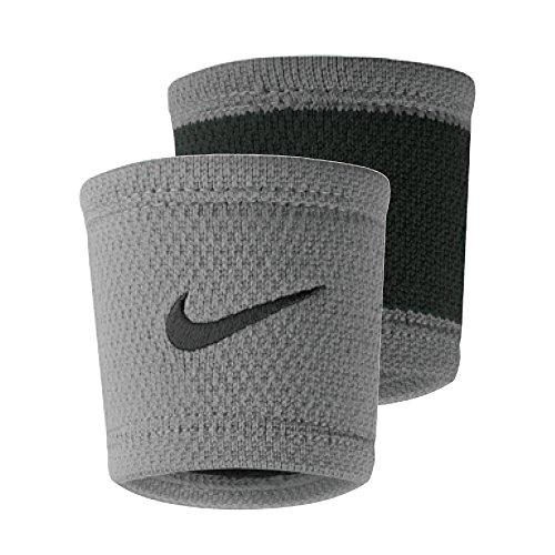 Nike Dri-Fit Stealth Wristband (Wolf Grey/Black)