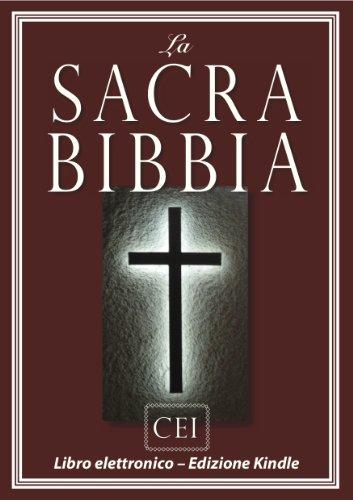 La Sacra Bibbia (Versione della CEI)   e-libro Bibbia (Italian Edition)