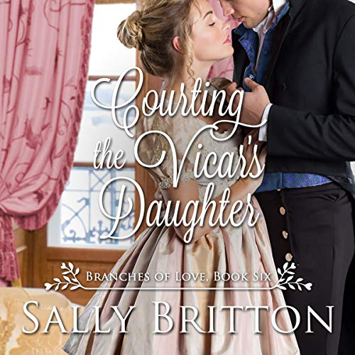Courting the Vicar's Daughter cover art