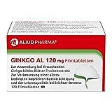 ALIUD PHARMA Ginkgo AL 120 mg, 120 Filmtabletten: Ginkgo-biloba-Blätter-Trockenextrakt, bei leichter Demenz