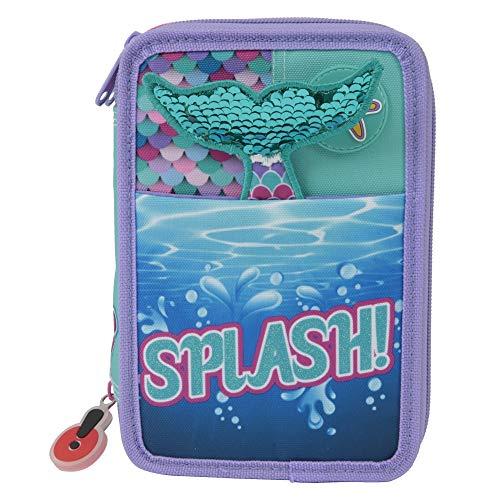 Giochi Preziosi Gopop 19 Astuccio Triplo Sirena Custodia, 22 cm, Multicolore