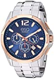 ESQ Men's Stainless Steel Chronograph Watch w/ Blue Dial FE/0141