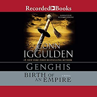 Genghis audiobook cover art