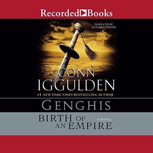 Genghis audiobook cover art