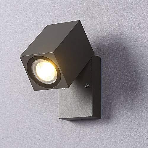 XYJGWBD 5W LED Paquete de Pared Luz Ajustable Cabeza Accesorio de iluminación al Aire Libre Impermeable, Uso for balcón, Sala de Estar, Puerta, jardín, Patio
