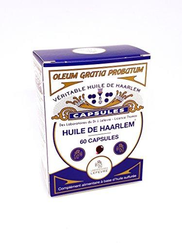 Olio di Haarlem autentico, 60 capsule originali