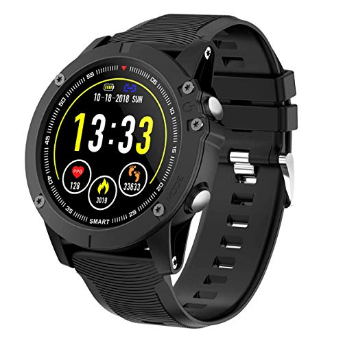 HolyHigh Smartwatch Orologio Cardiofrequenzimetro da Polso Impermeabile IP68 Smart Watch Fitness Tracker...