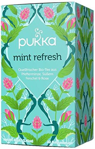 Mint Refresh PUKKA Tee BIO 4 Pkg. à 20 Teebeuteln