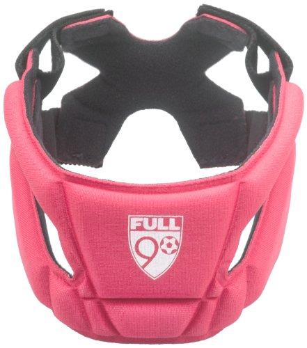 Full 90 Sports SELECT Performance Soccer Headgear, Red, Medium