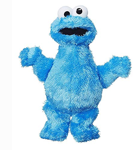 Sesame Street Mini Plush Cookie Monster Doll: 10-inch Cookie Monster Toy for Toddlers and Preschoolers, Toy for 1 Year Olds and Up