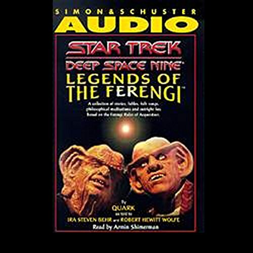 Star Trek, Deep Space Nine: Legends of the Ferengi (Adapted) audiobook cover art