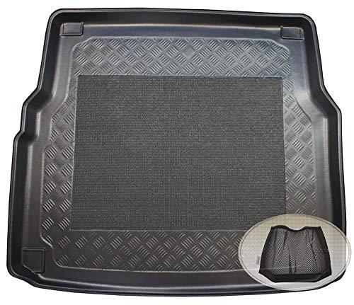 ZentimeX Z3022825 Antirutsch Kofferraumwanne fahrzeugspezifisch + Klett-Organizer (Laderaumwanne, Kofferraummatte)