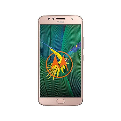 moto g5s plus Smartphone 13,97 cm (5,5 Zoll), (13MP Kamera, 3GB RAM/32GB, Android) blush gold