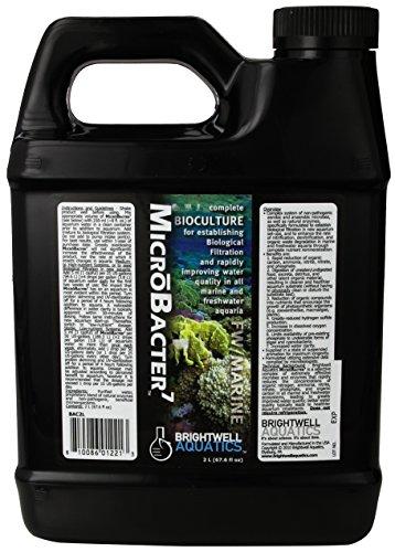 Brightwell Aquatics ABABAC2L Microbacter7 Liquid Water Conditioners for Aquarium, 67-Ounce, 2L