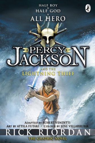 Percy Jackson and the Lightning Thief - The Graphic Novel (Book 1 of Percy Jackson) (Percy Jackson and the Olympians: The Graphic Novel) (English Edition)