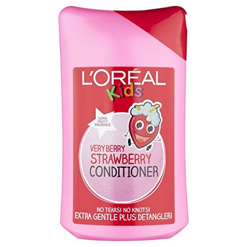 L'Oréal Paris Elvive Paris niños Very Berry fresa Acondicionador 250ml (Paquete de 2)