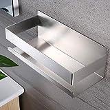 Deprik Duschablage ohne Bohren - Duschregal Selbstklebend Edelstahl Duschkorb für die Badezimmer...