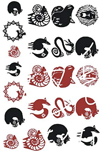 Tattoo Stickers for The Seven Deadly Sins Cosplay