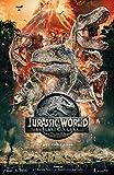 Theissen Jurassic World Fallen Kingdom Poster Borderless Vibrant Premium Movie Poster - Matte Poster Frameless Gift 28cm x 43cm *IT-00124