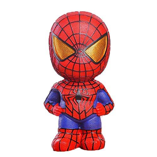 MYKK Tirelire Tirelire Tirelire Tirelire Économiser de La Monnaie Papier Papier Tirelires pour Enfants 22 * 12 cm Spiderman