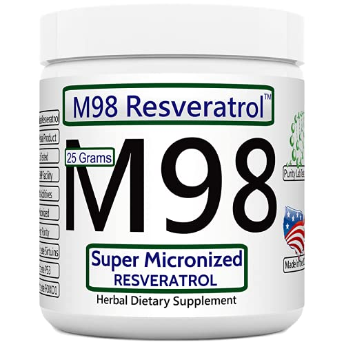 Revgenetics-M98 Bulk Super Micronized Resveratrol 25 grams