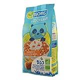 Bjorg Les P'tits Curieux – Crousti Étoiles Miel - Céréales enfants bio pour le petit déjeuner – 1 paquet de 375 g