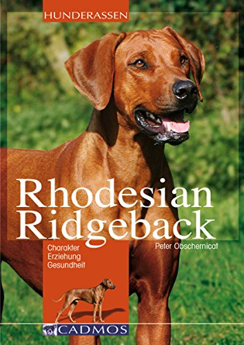 Rhodesian Ridgeback: Charakter, Erziehung, Gesundheit (Hunderassen)