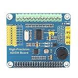 Changor Tarjeta de expansión AD/de incorporada, interfaz de sensor Micro Nieve Canal de alta precisión Tarjeta de expansión AD/Fr -