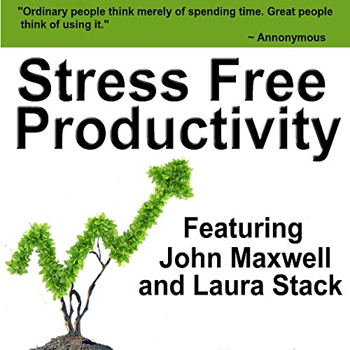 Stress Free Productivity audiobook cover art