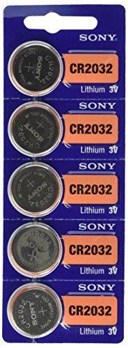 CR2032de 3V baterías de litio de Sony